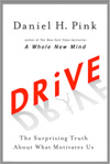 A picture of Dan Pink's book Drive.